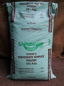 perfosfato in polvere saponaro