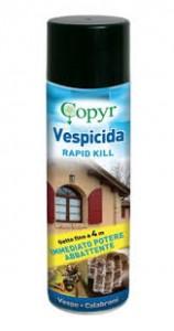 VESPICIDA Rapid kill Insetticida aerosol contro mosche, zanzare e vespe 750 ml