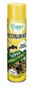 VESPABLOCK Insetticida aerosol schiumogeno per nidi di vespe e calabroni 750 ml